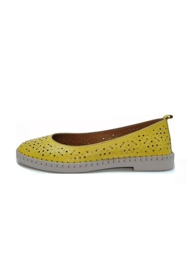 Ballerins Ayakkabı Sarı